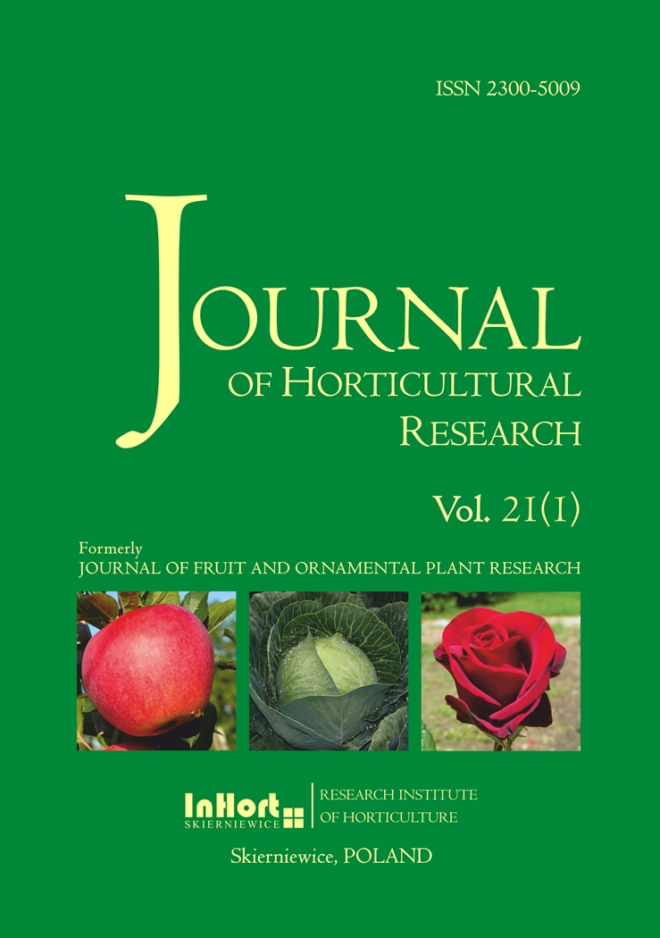 Horticulture research writing